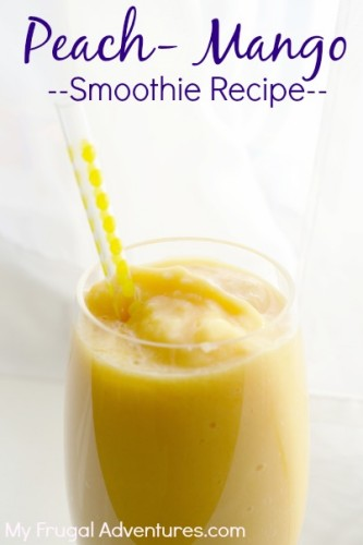 Peach Mango Smoothie Recipe