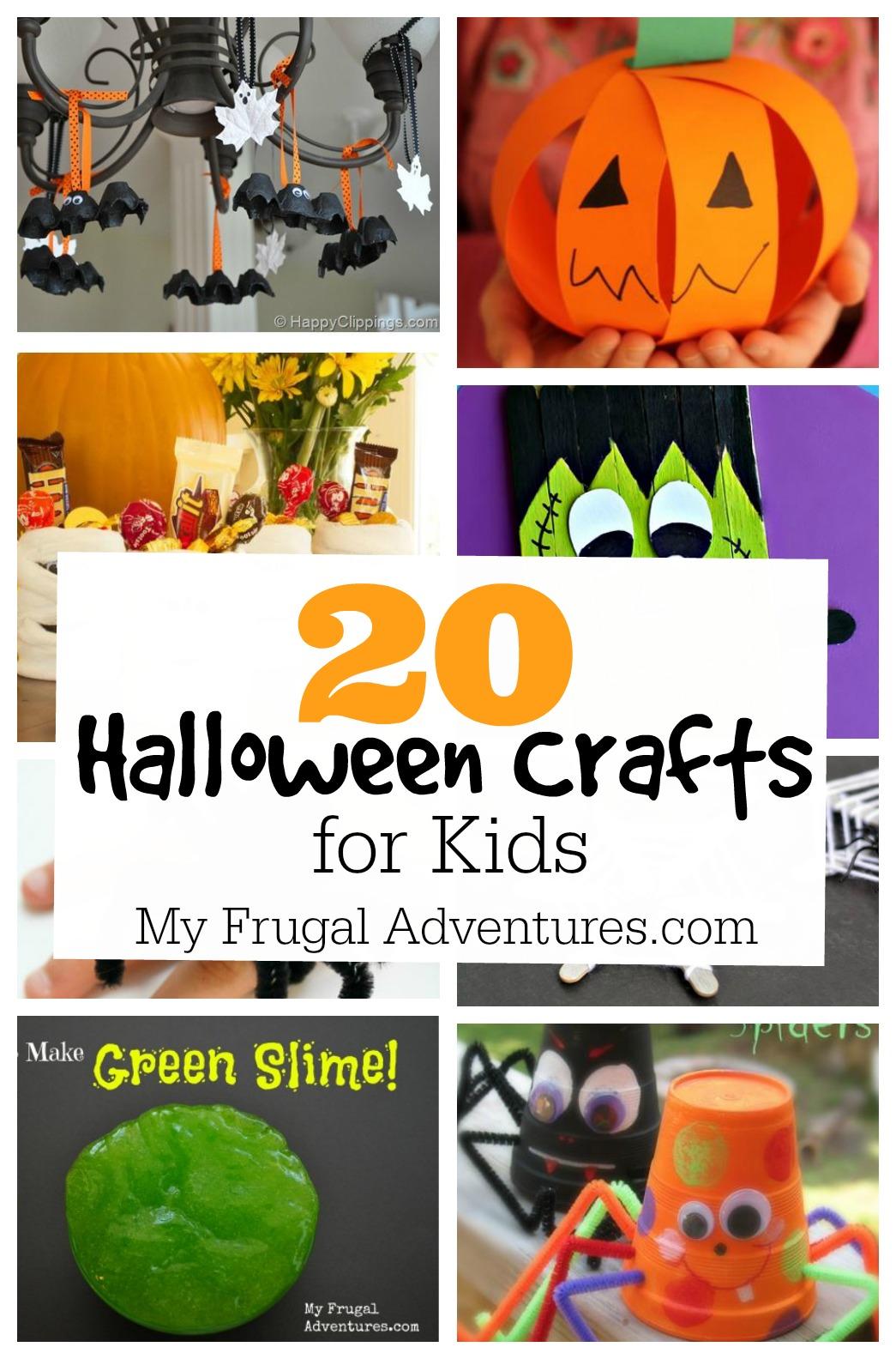 25 Halloween Craft Ideas For Children