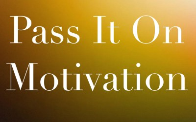 Brain Game #6 – Pass It On Motivation