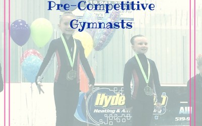 Top 3 Tips To Raising Pre-Competitive Gymnasts