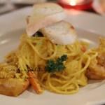 Foodism FX Sudirman : Spaghetti Udang Saos Telur Asinnya Mantap