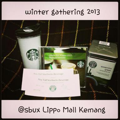 Thank You Starbucks! :)