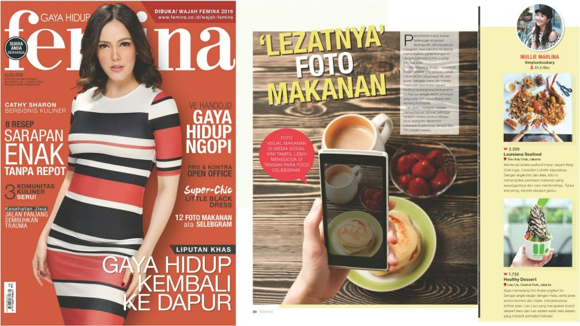 Featured in Femina Magazine 5-11 March 2016rev
