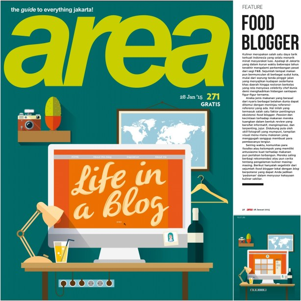 Featured on Area Magz edisi 271on 28 Jan 2015