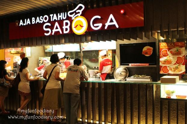 tampak outlet Saboga Grand Indonesia
