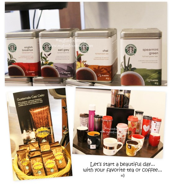 Various Tea by Starbucks