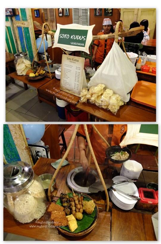 Penjual Soto Kudus di Eat & Eat