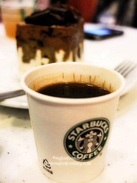 Tester Kopi Sumatra Starbucks