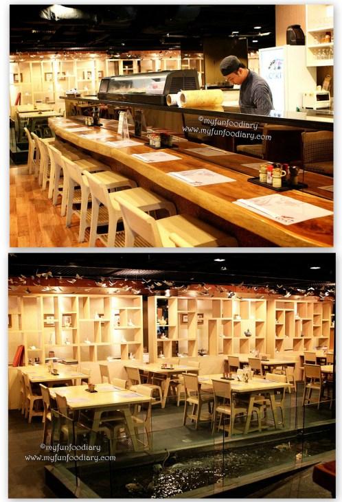 Suasana Restoran Koiki