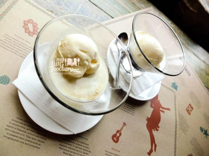 Hawaiian Bistro's Coffee Jelly Ice Cream