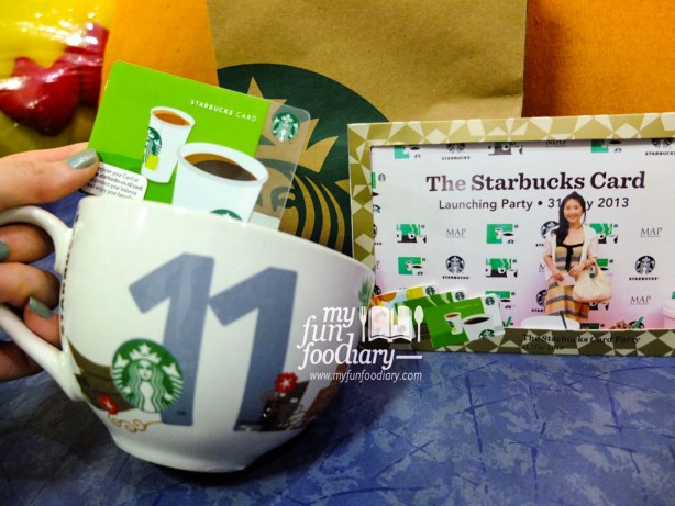 Gift from Starbucks