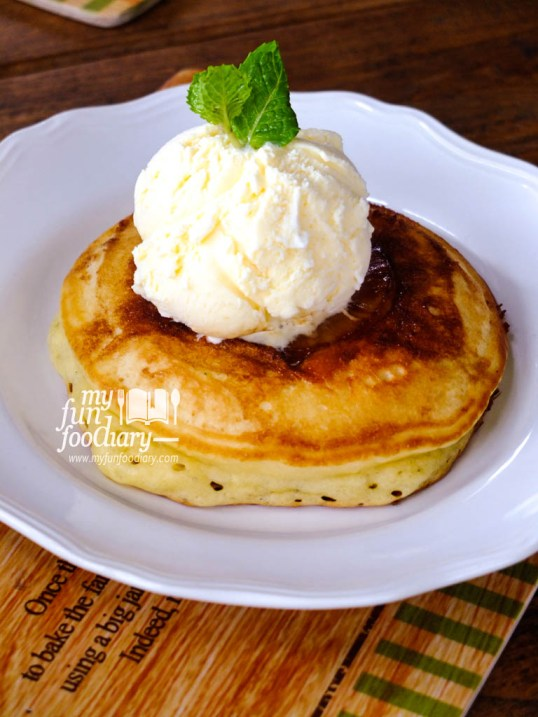 Leal's Pineapple Upside Down Pancake