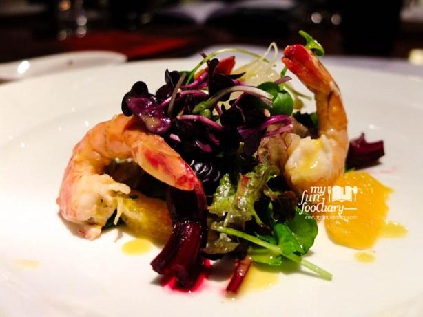 Scampi Giganti Salad