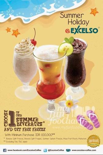 Summer Beverages Promo