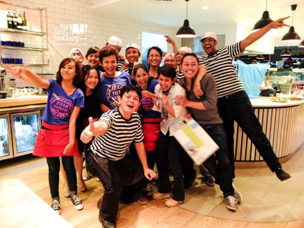 The Superheroes of Pizza Express :D