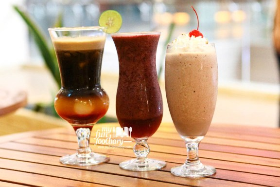 Various Summer Holiday Drinks at Excelso