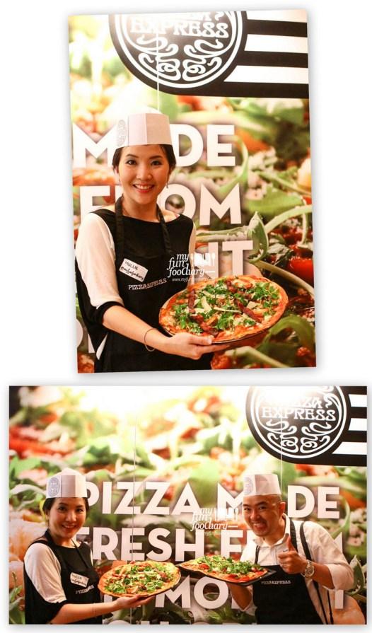 Pose Narsis dengan Pizza Express