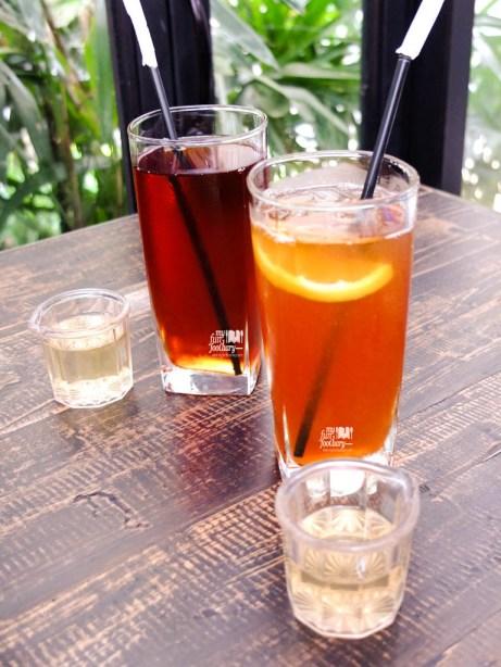 Iced Tea & Iced Lemon Tea