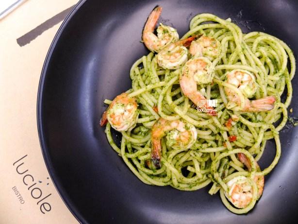 Prawn Piccante Spaghetti