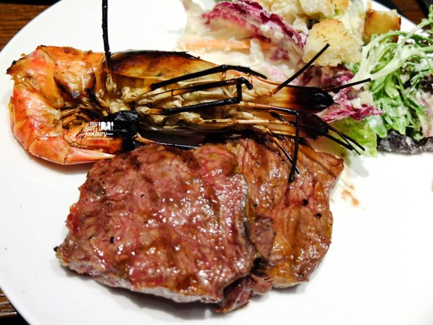 Grilled Meat and Big Prawns from BBQ Corner