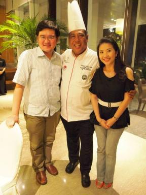 With Stallon and Chef Yono