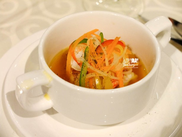 Shellfish Soup Pelangi