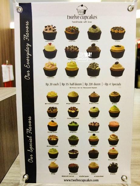 Various Cupcakes by Twelve Cupcakes