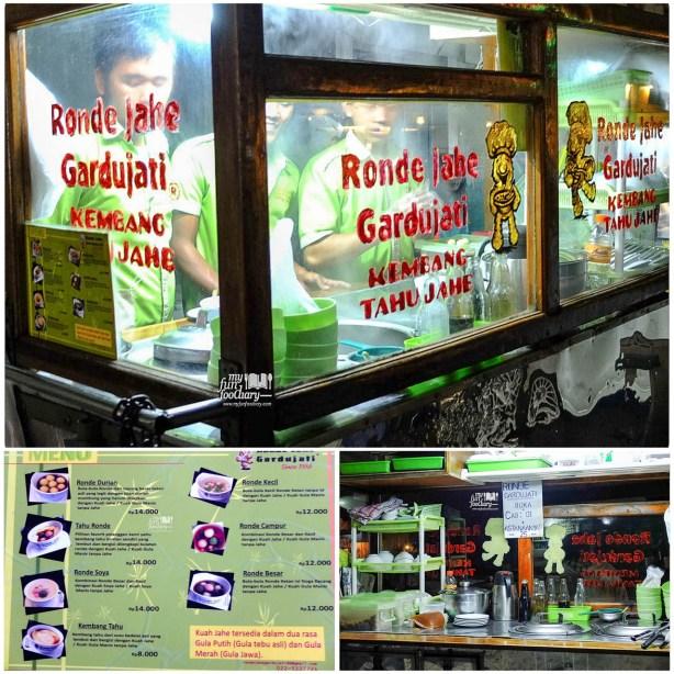 Gerobak Ronde Jahe Gardujati since 1986
