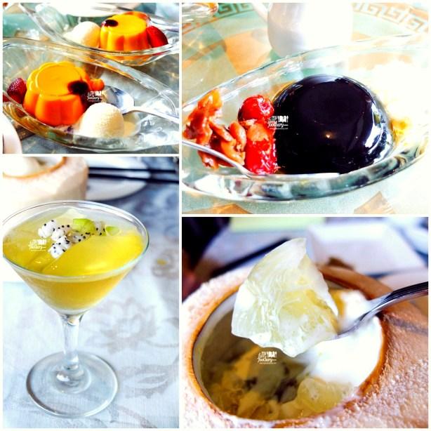 Various Dessert at Tien Chao