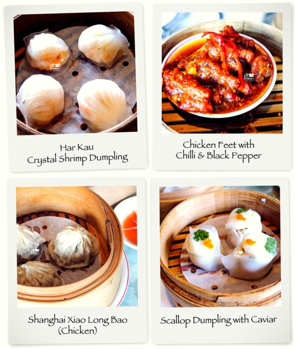 Various Steamed Dim Sum