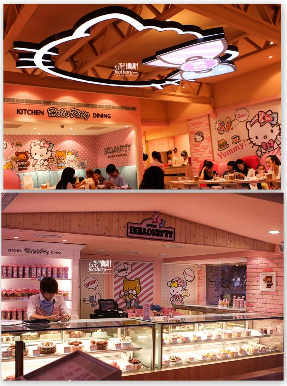 preview ambience of Hello Kitty Cafe 02