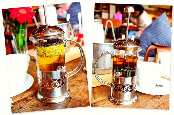Hot Tea at Canteen