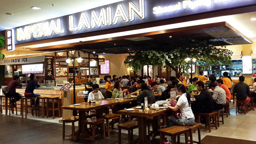 Suasana Imperial Lamian Grand Indonesia