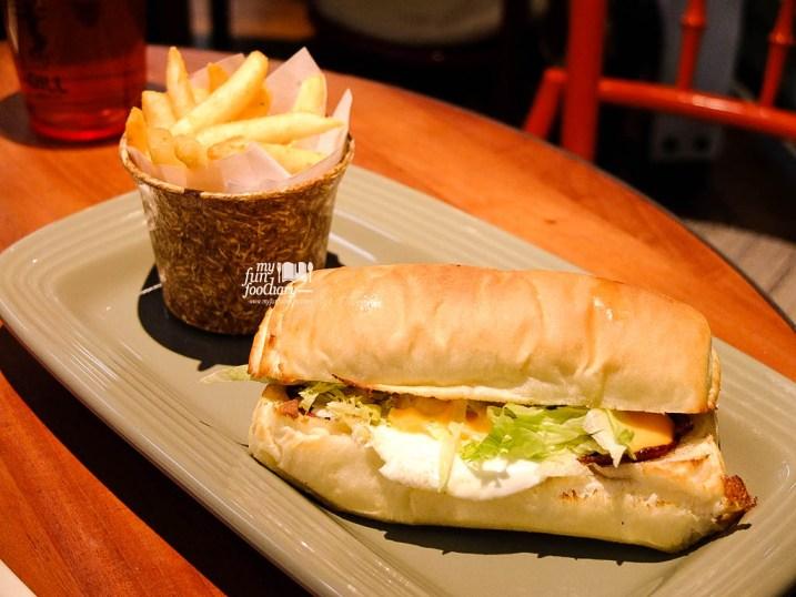 BLT Egg Sandwich