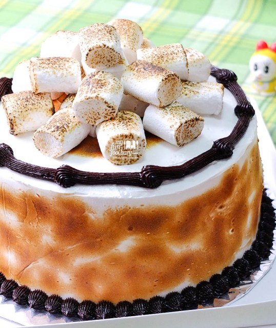 S'mores Cake Full Preview