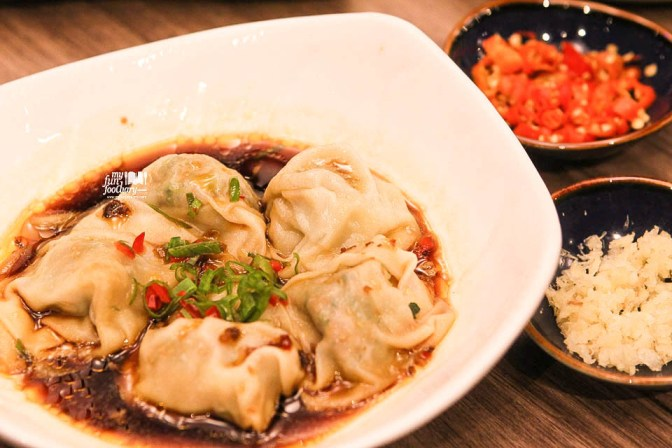 Wanton With Chilli Oil