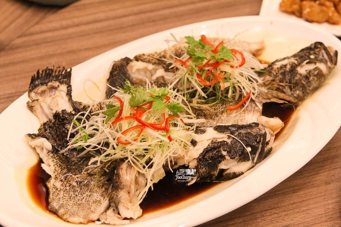 Steamed Marble Goby with Supreme Soya Sauce