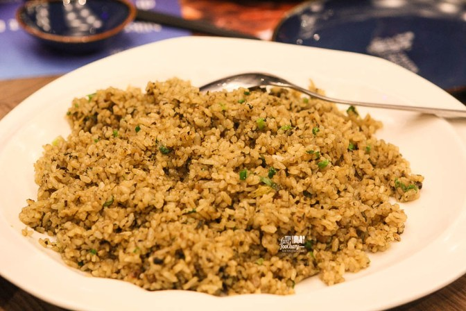 Wok Fried Rice with Salted Fish and Black Olives