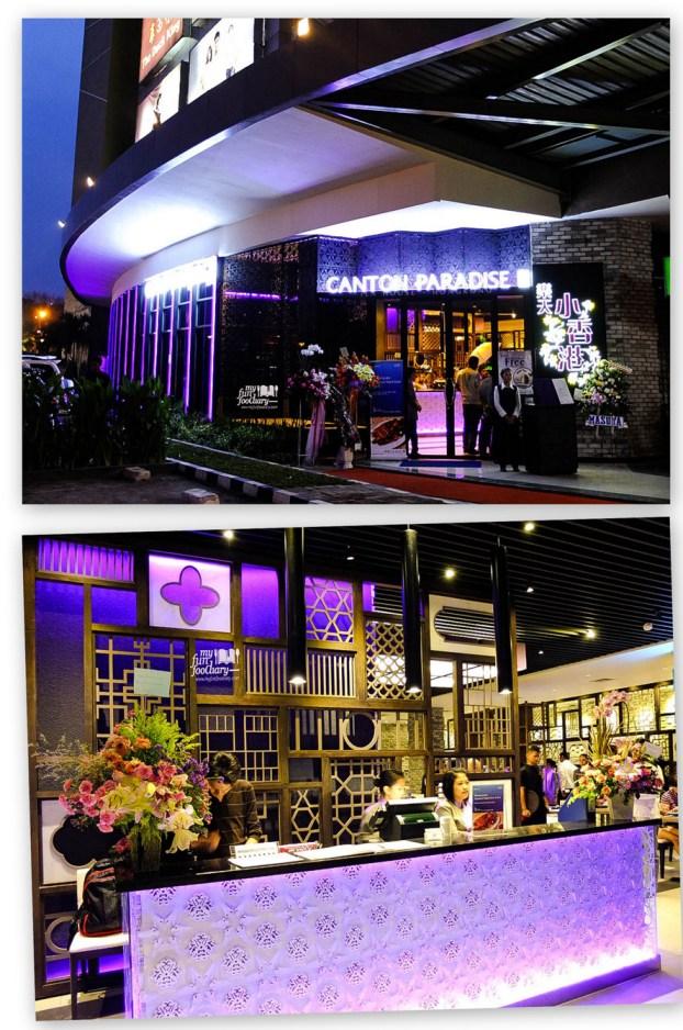 Tampak Depan Restoran Canton Paradise