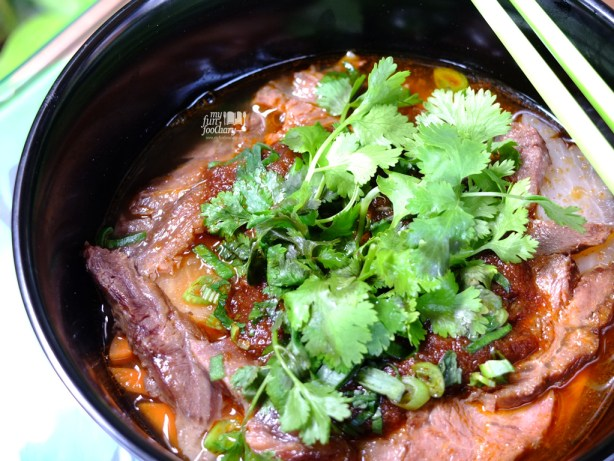Spicy Taiwanese Beef Noodle
