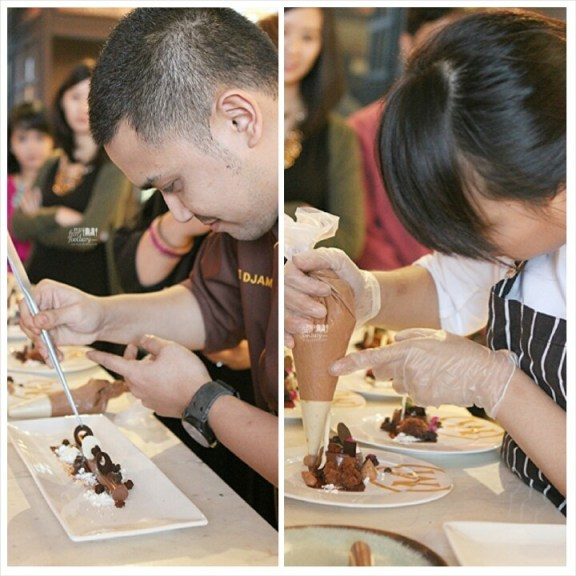 Chef Odie Djamil and Chef Kim Pangestu