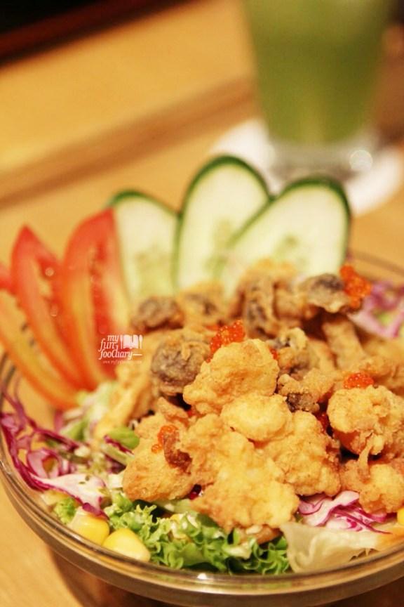 Ebi Shimeji Salad