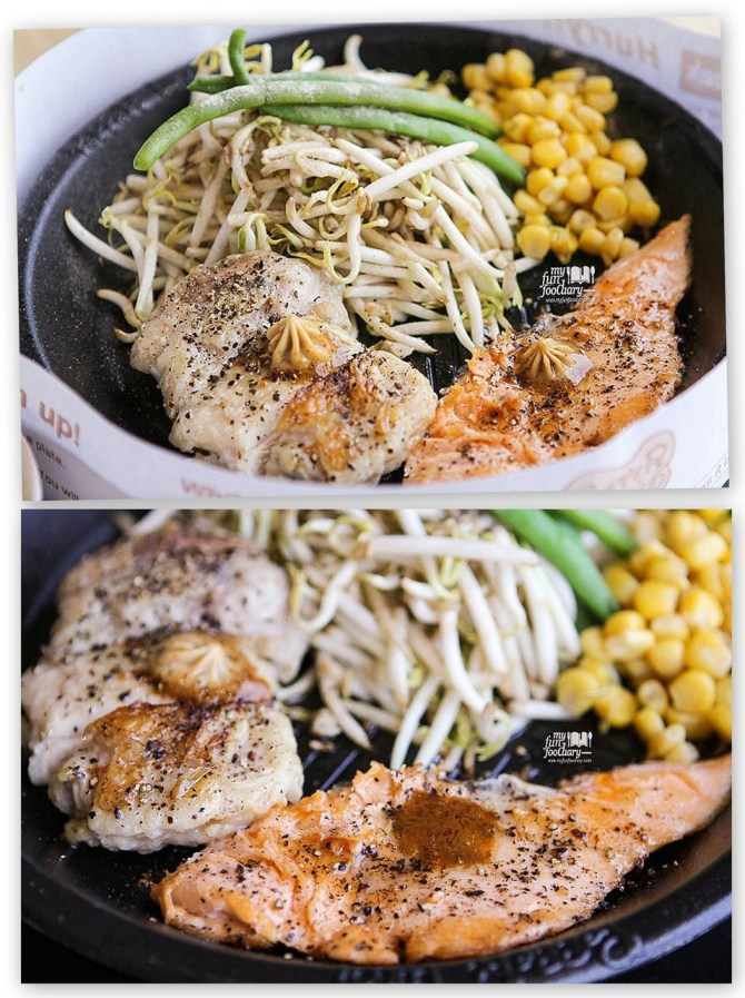 Salmon and Chicken