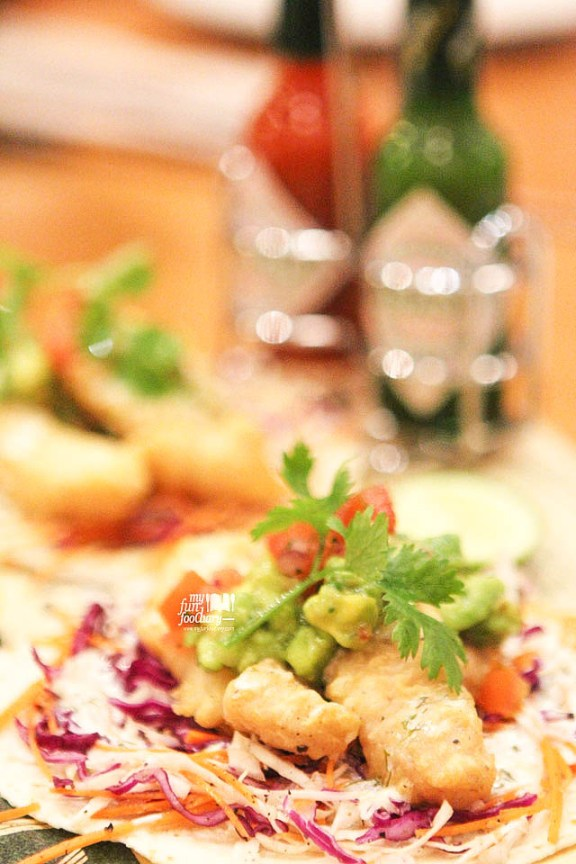 Baja Fried Fish Tacos with Avocado & Homemade Salsa