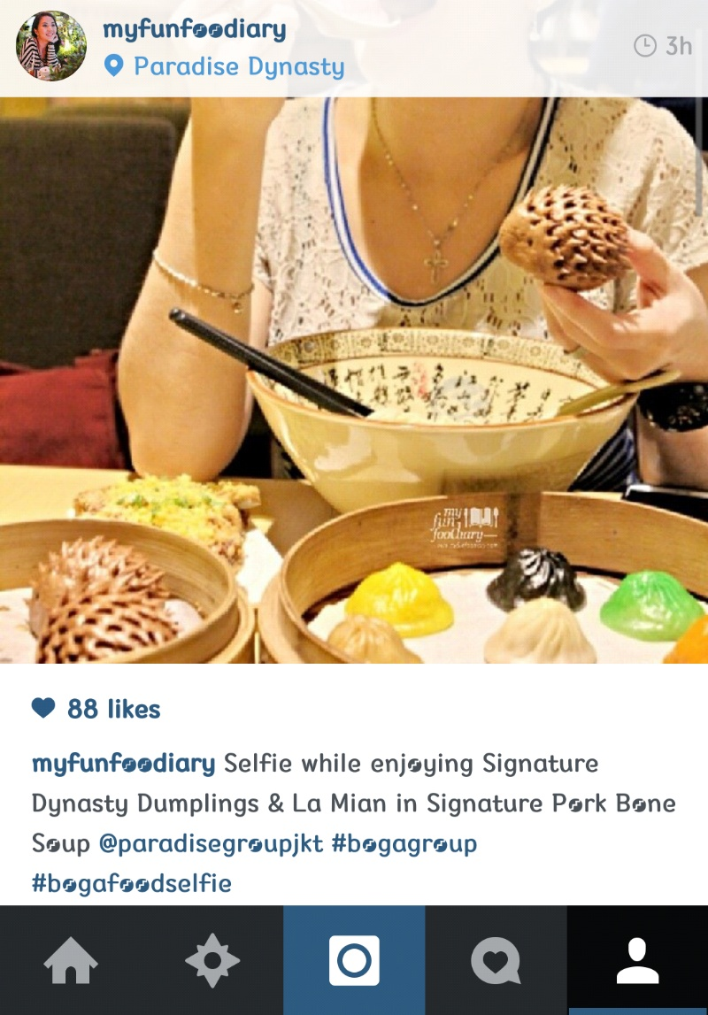 Boga Group Selfie with Paradise Dynasty Central Park - by myfunfoodiary
