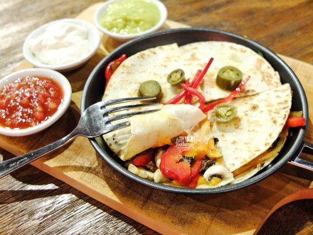 Mexican Cheese Quesadilla