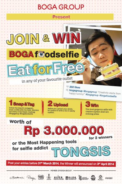 Boga Food Selfie Campaign Awareness
