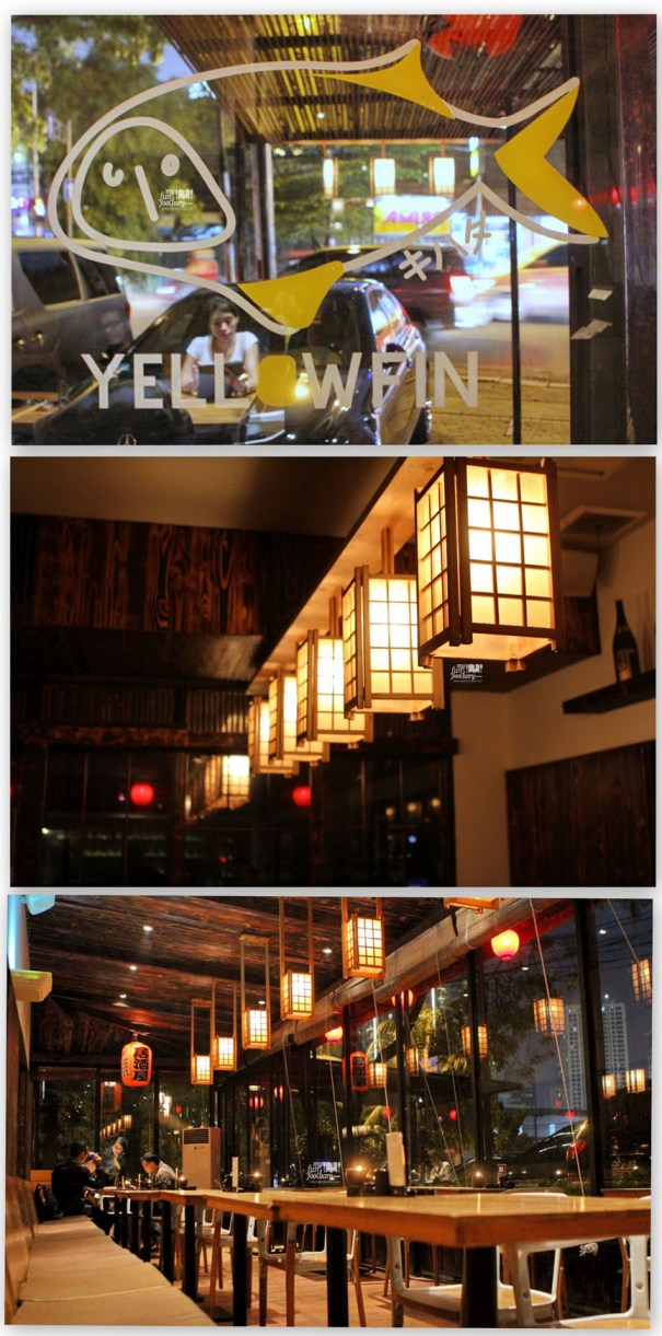 Night Scene at Yellowfin Senopati by Myfunfoodiary - indoor area