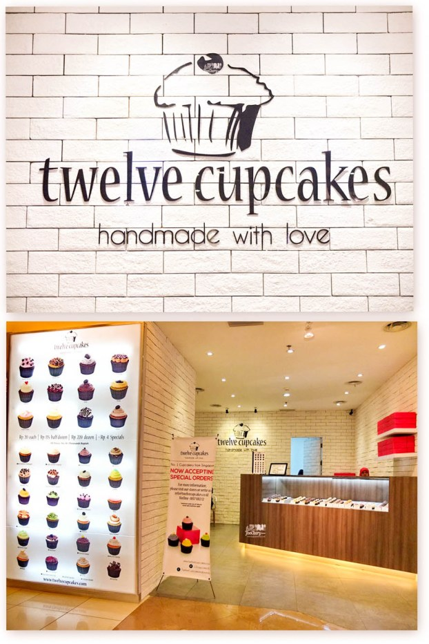 Tampak Outlet Twelve Cupcakes Pacific Place Jakarta by Myfunfoodiary