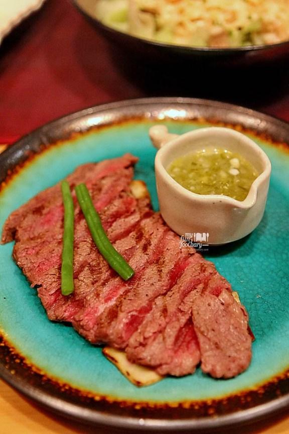 Wagyu Steak Salsa Yellowfin Senopati by Myfunfoodiary